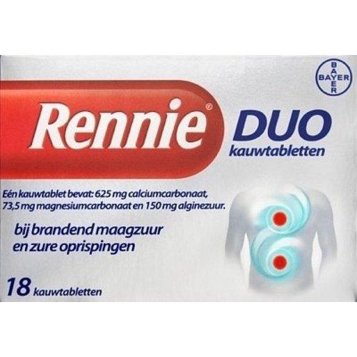 Rennie Rennie Duo - 18 Tabletten