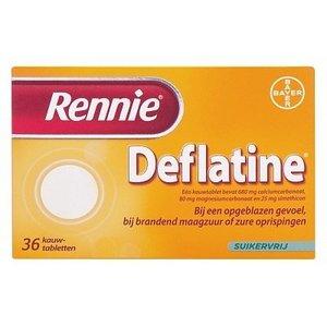 Rennie Rennie Deflatine - 18 Tabletten