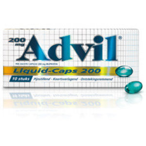 Advil Advil Liquid Caps 200 Mg - 20 Capsules