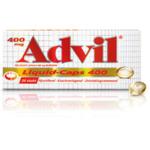Advil Advil Liquid Caps 400 Mg - 20 Capsules