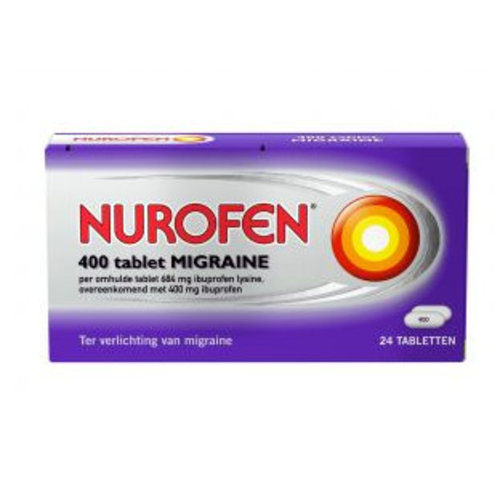 Nurofen Nurofen Migraine 400 Mg - 24 Tabletten