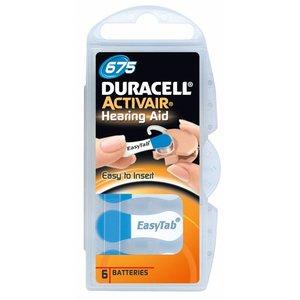 DURACELL Duracell Da 675 Hearing Aid - 6 Batterijen