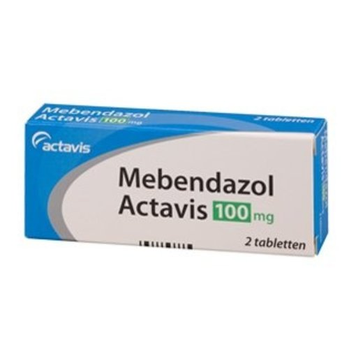 Actavis Actavis Mebendazol 100 Mg - 2 Stuks