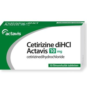 Actavis Actavis Cetirizine Dihcl 10 Mg - 10 Stuks