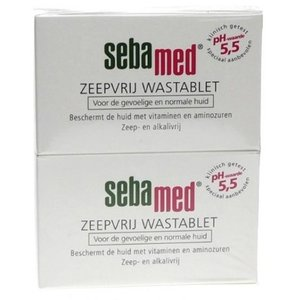 Sebamed Sebamed Compact Zeep Duo - 2x150 Gram