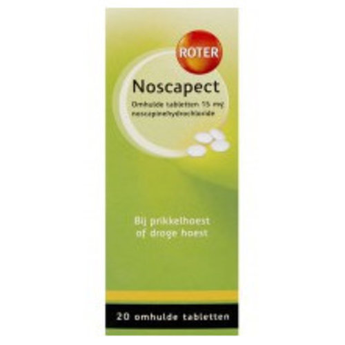 Roter Roter Noscapect - 20 Dragees