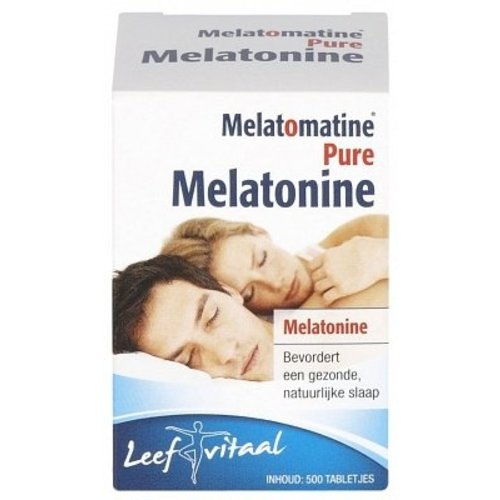 Melatomatine Melatomatine Pure Melatonine - 500 Stuks