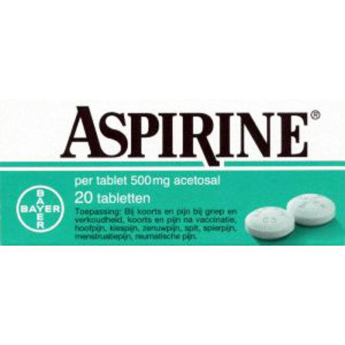 Aspirine Aspirine 500 Volwassenen - 20 Tabletten