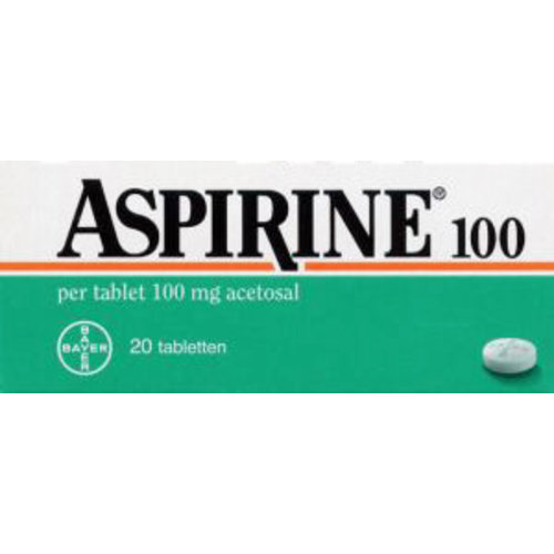 Aspirine Aspirine 100 Kind - 20 Tabletten