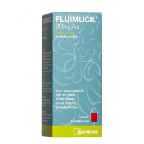 Fluimucil Fluimucil Drank Junior - 100 Ml