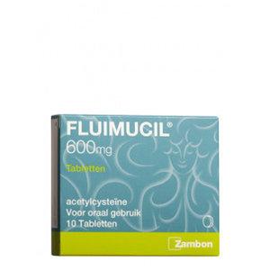 Fluimucil Fluimucil 600mg Tbl - 10 Tabletten