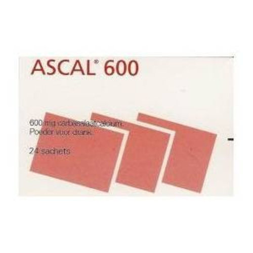 Ascal Ascal 600mg - 24 Sachets