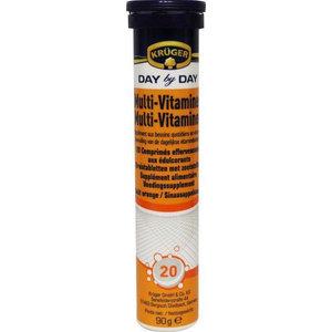 Kruger Kruger Day By Day Multi Vitamine Bruis - 20 Bruistabletten
