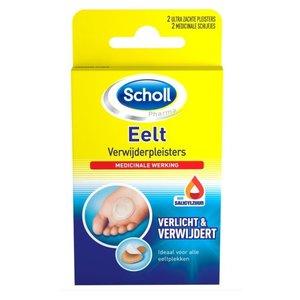 SCHOLL Scholl Eelt Verwijderpleister - 4 Stuks