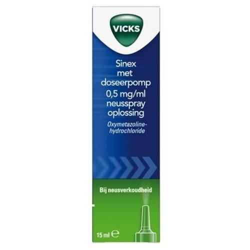 Vicks Vicks Sinex Pomp - 15 Ml