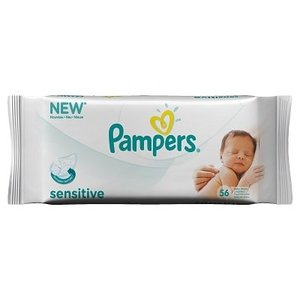 Pampers Pampers Wipes Navulpak Sensitive - 56 Stuks