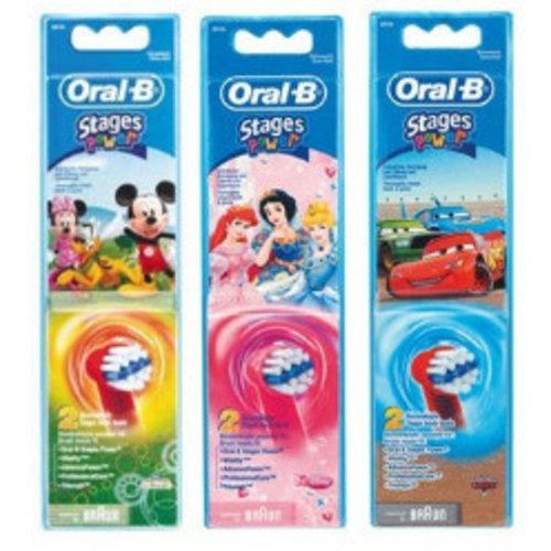 Oral B Oral B Opzetborstels Kids Stages Power - 2 Stuks