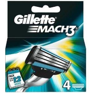 Gillette Gillette Mach3 Mesjes - 4 Stuks