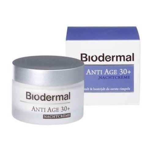 Biodermal Biodermal Nachtcreme Anti-Age 30 - 50 Ml