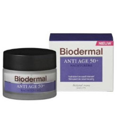 Biodermal Biodermal Nachtcreme Anti-Age 50 - 50 Ml