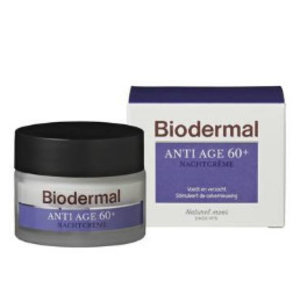 Biodermal Biodermal Nachtcreme Anti-Age 60 -50 Ml