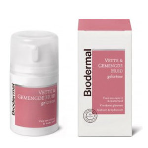 Biodermal Biodermal Gelcreme Vette + Gemengde Huid - 50 Ml