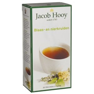 Jacob Jacob Hooy Thee Blaas-Nier Kruiden - 20 Zakjes