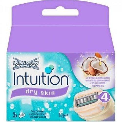 Wilkinson Wilkinson Intuition Dry Skin - 3 Stuks