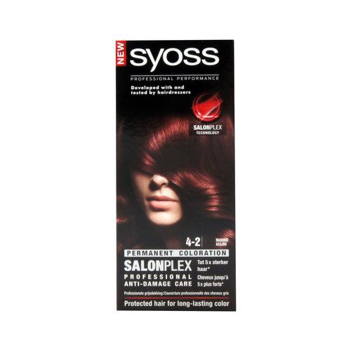 Syoss Syoss Colors 4-2 mahonie - 1 Stuks