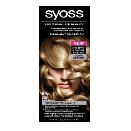 Syoss Syoss Colors 8-6 Lichtblond - 1 Stuks