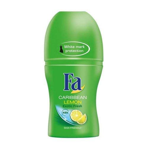 Fa Fa Deo Roller Caribbean Lemon - 50 Ml