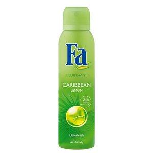 Fa Fa Deo Spray Caribbean Lemon - 150 Ml