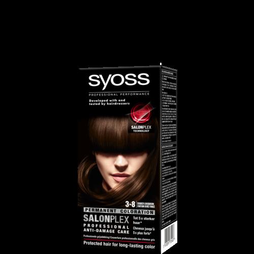 Syoss Syoss colors haarverf donker goudbruin 3-8