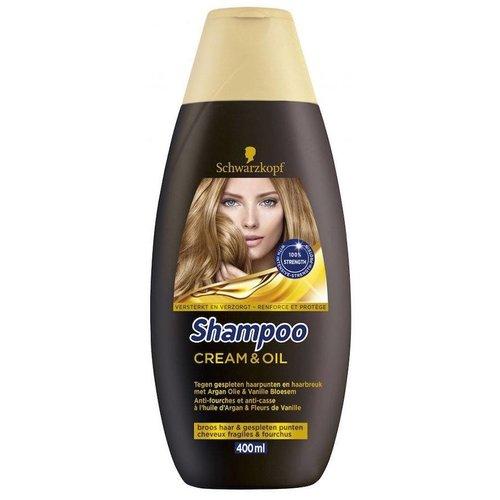 Schwarzkopf Schwarzkopf Shampoo Cream & Oil - 400 Ml