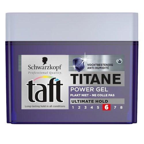 Taft Taft Styling Titane Power Gel - 250 Ml