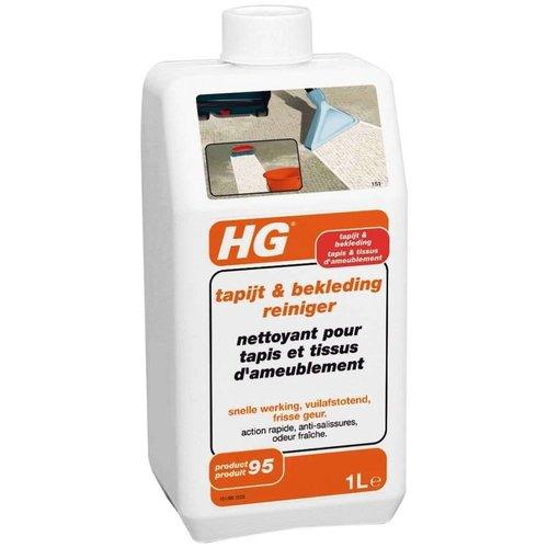 Hg Hg Tapijt En Bekleding Reiniger - 1 Liter