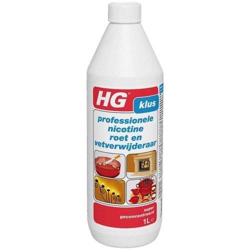 Hg Hg Rood Roet,Nicotine En Vetverwijderaar - 1 Liter