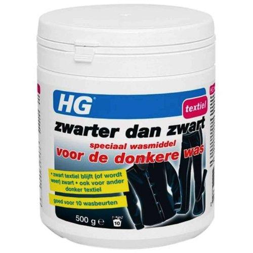 Hg Hg Zwarter Dan Zwart Speciaal Wasmiddel Donkere Was - 500 Gram
