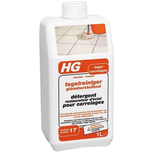 Hg Hg Tegelreiniger Hoogglansvloeren Streeploos - 1000 Ml