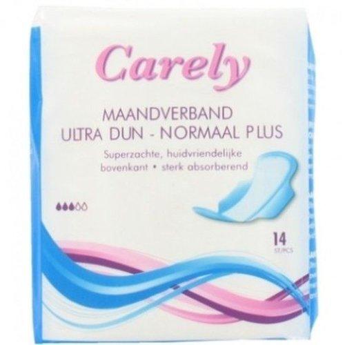 Carely Carely Maandverband Ultra Dun Normaal Plus - 14 Stuks