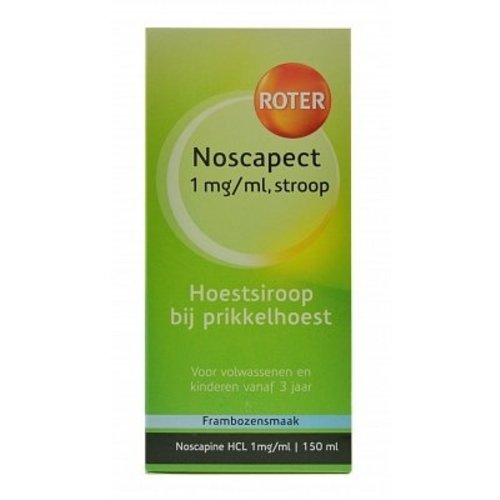 Roter Roter Noscapect Siroop - 150 Ml