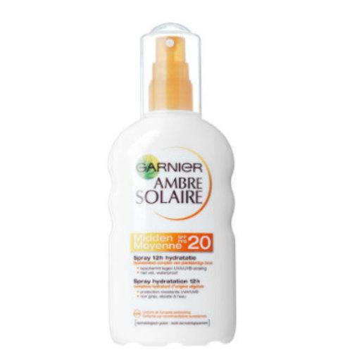 Garnier Garnier Ambre Solaire Spray Spf 20 - 200 Ml