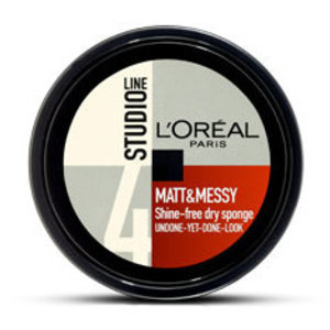 Loreal Studio Line Matt Messy Dry Sponge - 150 Ml