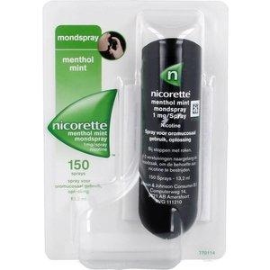 Nicorette Nicorette Mondspray - 13.6 Ml