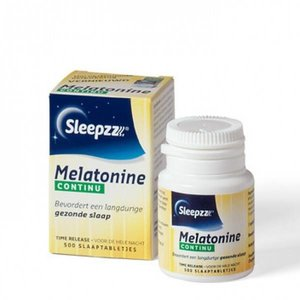 Sleepzz Sleepzz Melatonine Continu - 500 Tabletten