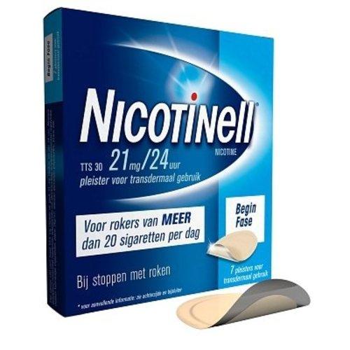 Nicotinell Nicotinell Tts 30 Pleisters - 7 Stuks
