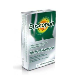 BUSCOPAN BUSCOPAN 10MG - 20 STUKS
