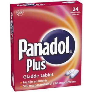Panadol Panadol Plus Glad - 24 Tabletten