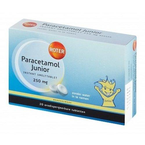 Roter Roter Paracetamol Junior Smelt - 20 Tabletten