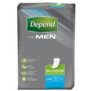 Depend Depend Men Guards - 14 Stuks